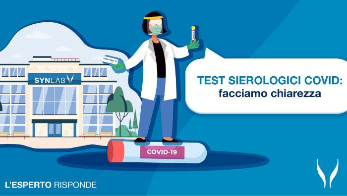 Test sierologici Covid: l'esperto risponde